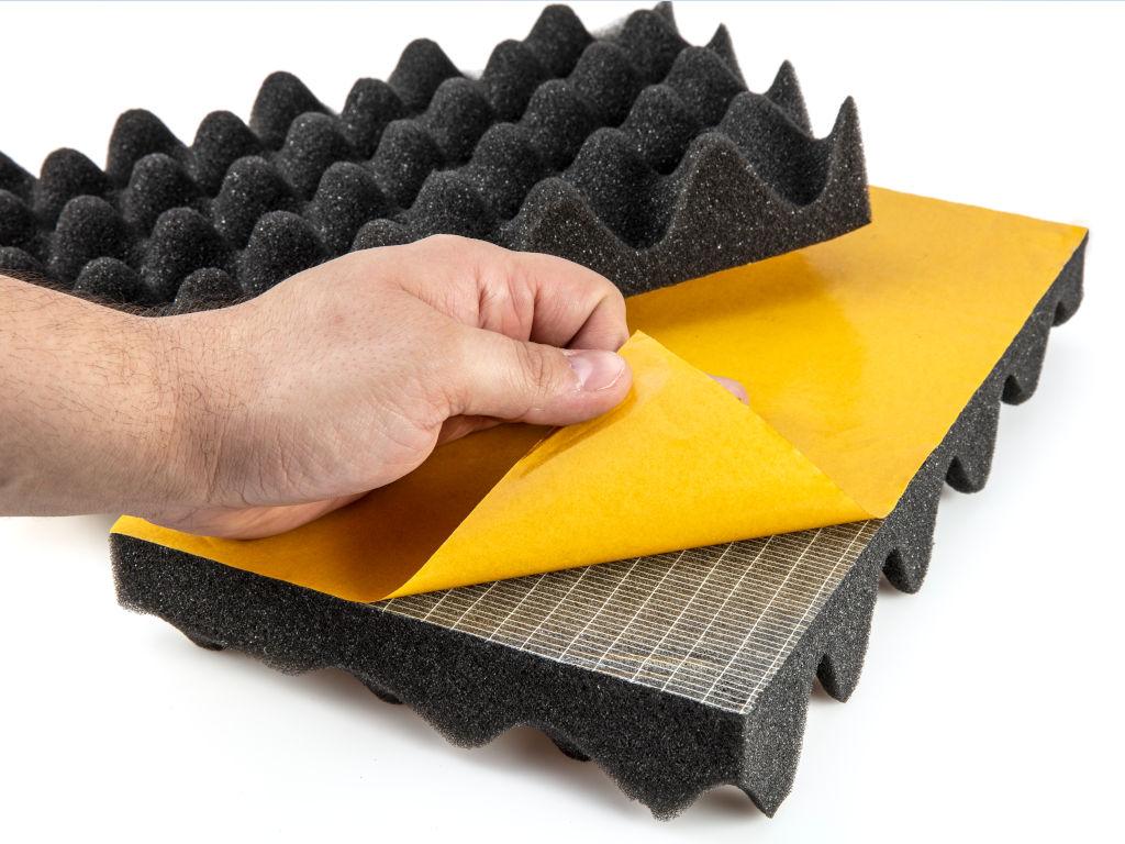 Recytrex - Laminat de panell acústic amb teixit estetic